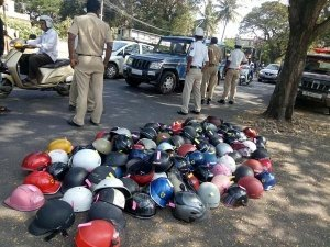 Half Helmet Seizure & Ban In Bangalore & Mysore — Here's What Bangalore Police Has To Say