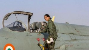 Avani Chaturvedi, IAF Flying Officer, Becomes The First Indian Sister To Fly A Fighter Jet Alone