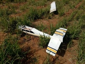 DRDO Drone Crashes On Agricultural Land In Chitradurga While Being Tested