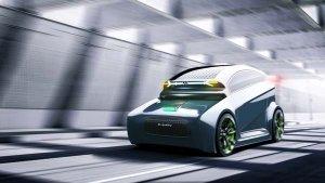 Infiniti E-Jiffy Autonomous Electric Car — A Concept By Narendra Singh Chhetri