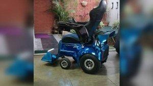 Mantra Racing Electric Wheelchair — Makes Even Stephen Hawkings Jealous!