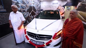 88-Year-Old Indian Farmer Buys Mercedes-Benz To Fulfil Childhood Dream