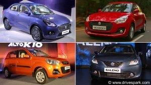 Top-Selling Cars In India June 2018: Maruti Cars Attain The Top Five Positions