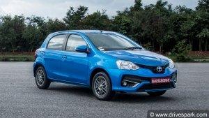 Toyota Etios Series Crosses Four Lakh Sales Milestone In India