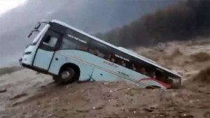 Manali Floods: Tourist Bus Falls Into Beas River — Watch The Shocking Video!