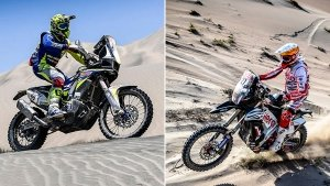2019 Dakar Rally Stage 8 Results — Sherco TVS Racing's Michael Metge Finishes 11th