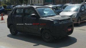 New Maruti Alto (2020) Spied Testing — To Be Based On The Future-S Concept