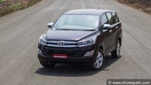 Toyota To Hike Prices Of Certain Models In India — Prices To Increase From April