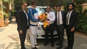 Amitabh Bachchan's Latest Luxury Ride Is A Mercedes Van
