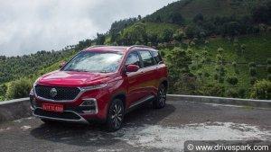 MG Hector Petrol Vs Diesel Sales Report: More Customers Prefer Petrol-Powered Hector Variants
