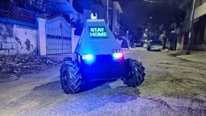 Coronavirus Pandemic: Chennai Police Send Four-Wheeled Remote Control Robot Into Red-Zones
