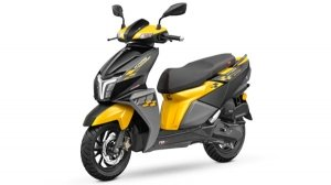 TVS Ntorq 125 Race Edition In Yellow Paint Scheme Launched: Priced At Rs 74,365