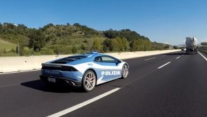 Italian Police Use Lamborghini Huracan To Transport A Kidney To A Hospital: Watch The Video Here!