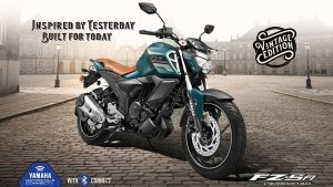 Yamaha FZS-Fi Vintage Edition Launched In India: Prices Start At Rs 1.09 Lakh