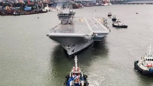 INS Vikrant Sea Trials Begin — All You Need To Know About The Made-In-India Aircraft Carrier