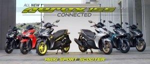 Yamaha Aerox 155 Launch Tomorrow; Powered By Yamaha's Liquid-Cooled Engine From R15