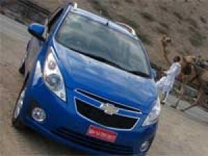 Cars from General Motors on SAIC platform in 2011
