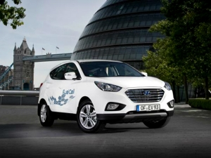 Hyundai Production Hydrogen Fuel Cell Cars For UK