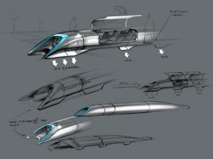 Elon Musk Reveals Hyperloop Transport System Concept Design