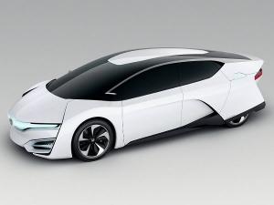 Honda FCEV Hydrogen Powered Car Of The Future At Tokyo Motor Show