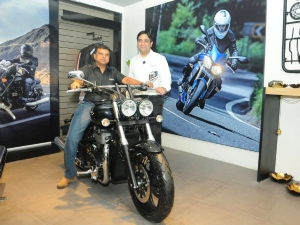 Triumph Motorcycles Bangalore Showroom Is The First To Open In India