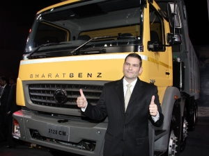 BharatBenz Tractor Trailer & Construction Mining Models Launched