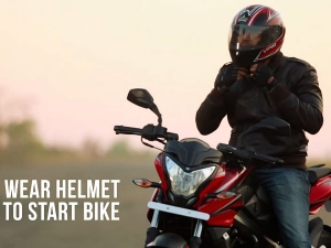 The Good Road: Wear Helmet To Start The Bike, A Safety Initiative