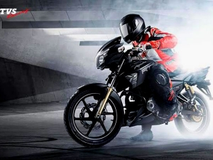 TVS Apache RTR 180 Matte Black Edition Launched