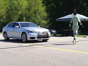 Lexus LS Pedestrian Detection System Testing By Consumer Reports