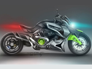 Hyosung ST7 Power Cruiser Concept Headed For EICMA Reveal