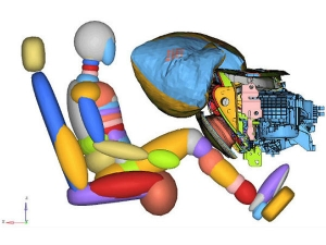 Ford Introduces Glovebox-Mounted Knee Airbag System