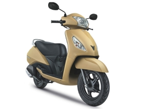 TVS Jupiter In Two New Colours For 1st Anniversary Celebrations