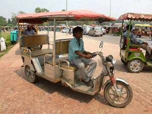 Safe E-Rickshaws Launched In Delhi