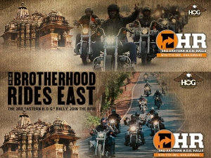 Khajuraho Allures Riders For 3rd Eastern H.O.G. Rally