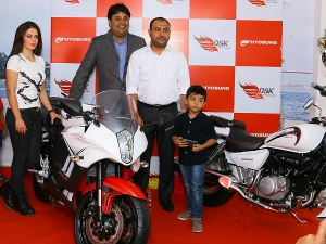 DSK Hyosung Inaugurate Exclusive Showroom Down South In Kochi