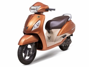 TVS Launch Special Edition Jupiter Scooter
