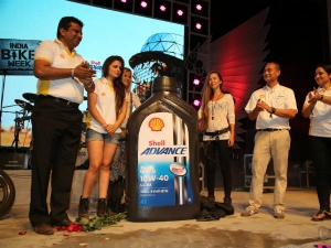 Shell Advance Ultra With PurePlus Launched At India Bike Week