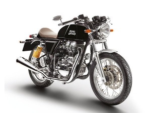 Royal Enfield Continental GT Now Available In Black Paint Scheme