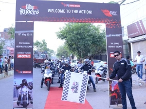 DSK Hyosung HyRyders Club Ride From Delhi To Gurgaon