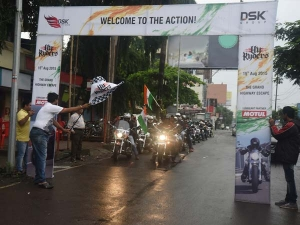 Hyosung Mumbai Riders Celebrate 69th Indian Independence Day