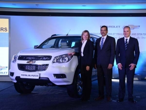 Trailblazer From Chevrolet To Redefine Indian SUV Segment
