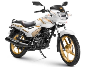 TVS Star City+ Gold Edition Launched On 1st Anniversary