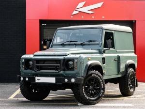 Custom Design: Keswick Green Land Rover Defender Designed By Kahn