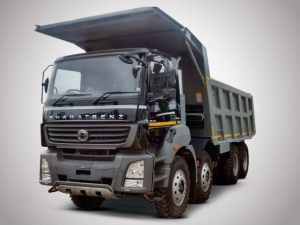 BharatBenz Displays Construction & Mining Trucks At EXCON