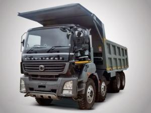 BharatBenz Displays Construction & Mining Trucks At EXCON