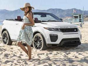 Range Rover Evoque Convertible Coming To 2016 Auto Expo