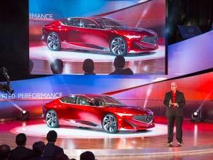 2016 Detroit Auto Show : Acura Reveals Precision Concept