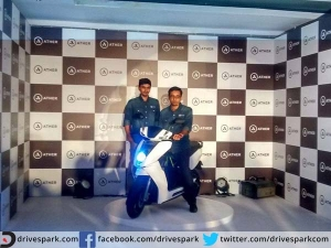 Ather Unveils Peppy Looking Eco Friendly Smart Electric Scooter