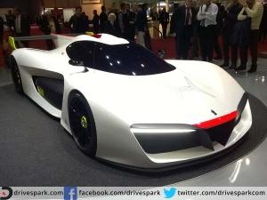 Hydrogen Powered Pininfarina H2 Speed Debuts In Geneva