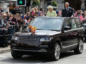 Queen Shows Off Her Custom Range Rover On Her 90th Birthday